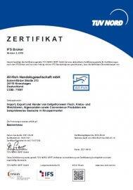 IFS broker 3.0 Zertifikat erhalten - Image